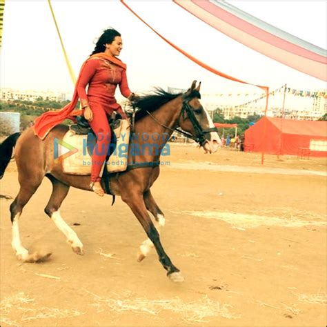 when horses are away celebs come out to play photos sowetan live check out sonakshi goes horse riding in her free time
