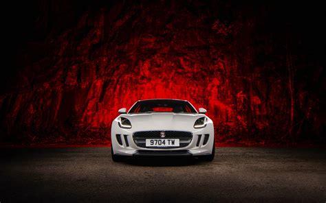 white jaguar car wallpaper hd jaguar f type white 4k hd wallpaper 4k cars wallpapers