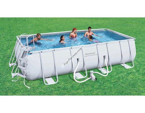 piscina best way piscina bestway rectangular frame 549x274x122 ref 56223 56256