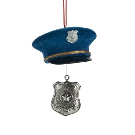 christmas ornaments for police officers