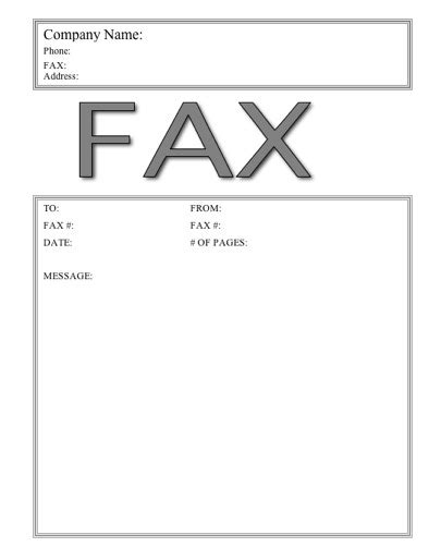 cat 2 fax cover sheet at freefaxcoversheets net