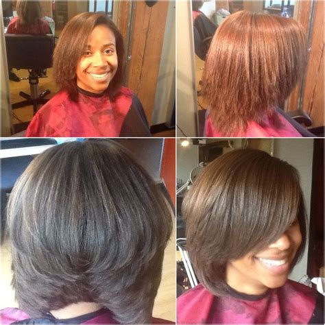 sew in swing bob hairstyle black swing bob haircut pictures 860 best images about