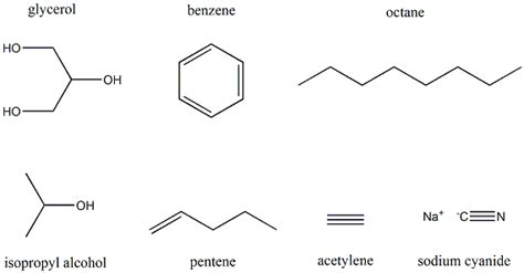Drawing Organic Compounds