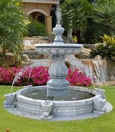 Backyard Fountains Ideas Water Fountains Front Yard And Backyard Designs