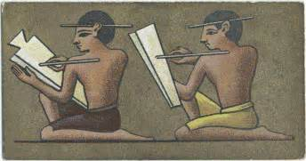 becoming a scribe books ancient writing hieroglyphs scribes crystalinks