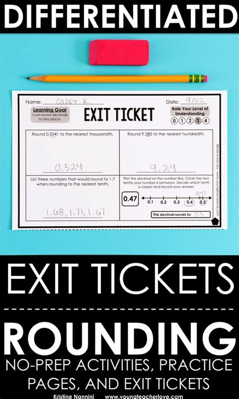 printable exit tickets pinterest the world s catalog of ideas