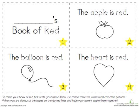 Printable Color Books For Preschoolers Todaysmama