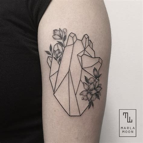 geometric tattoo white thrilling geometric black and white tattoos fubiz media