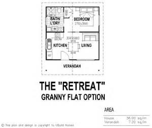 One Bedroom Granny Flat Floor Plans Granny Flats On Pinterest