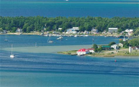 colorful beaver island michigans emerald isle