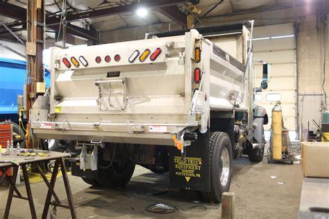 snow salt spreader snow plows salt spreaders triad truck equipment