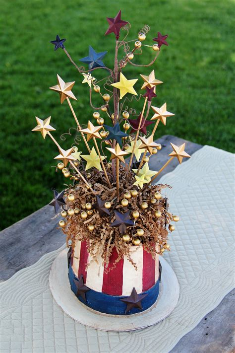 patriotic 4th of july crafts sam centerpiece