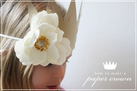 How To Make Paper Crowns - paper crowns tutorial jones design company