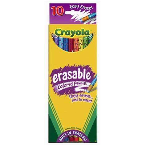 erasable colored pens erasable colored pencils crayola roofus all toys