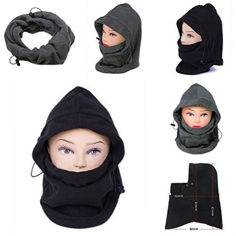 Balaclava Polar Masker Thermal 6 In 1 Multifungsi stock sale winter thermal 6 in 1 balaclava