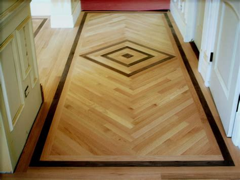 wood floor inlay ideas unique hardscape design the classic wood floor designs