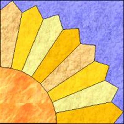 Sun Quilt Block by Myquiltgenie Garden Quilt Along Intro