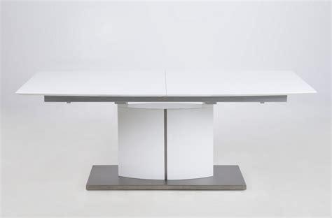 table la canada table 224 manger design laqu 233 blanc mat 224 rallonges canada