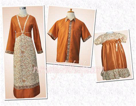 Paket Family Gamis Muslimah Batik Taman Bunga baju keluarga rumah jahit haifa new style for 2016 2017