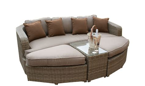 rattan daybed antilles natural rattan daybed fishpools
