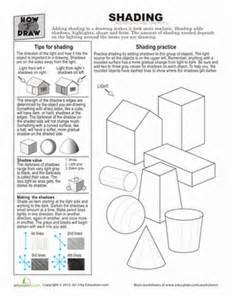 how to draw shading worksheet education com