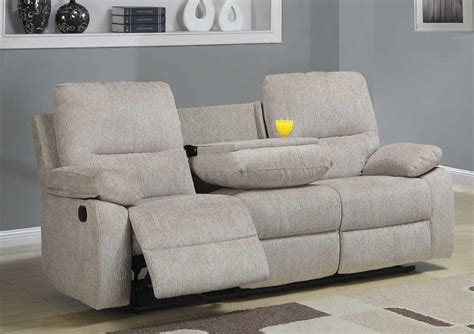 full reclining home theater sectional sofa set console homelegance marianna double reclining sofa with center