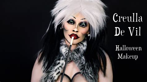 tutorial makeup natural viva cruella de vil makeup tutorial viva glam kay youtube