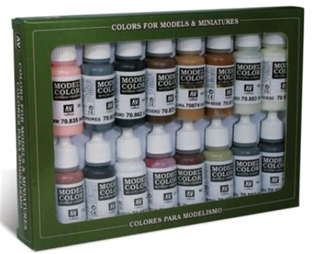 vallejo paints 17ml bottle imperial rome model color paint