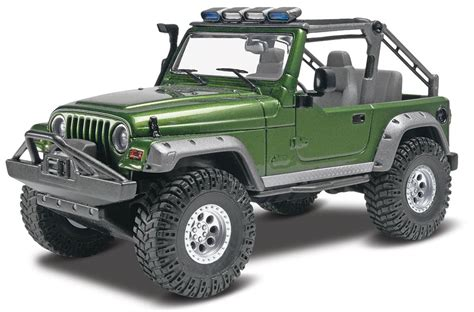 Jeep Kits Revell 1 25 Jeep 174 Wrangler Rubicon Plastic Model Kit