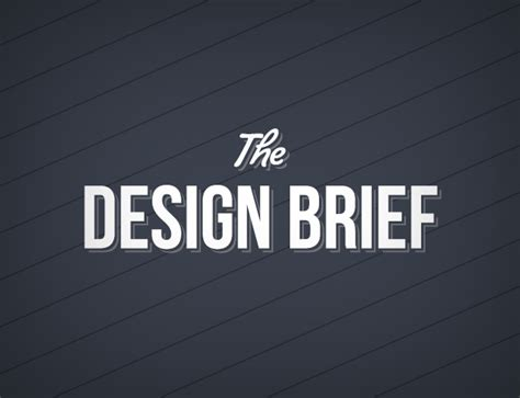 what does a design brief need blog how to write an effective design brief and get the