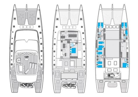 catamaran layout plans 102 sunreef catamaran layout sunreef sail catamarans ny