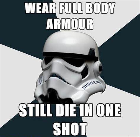 Stormtrooper Meme - the social shareable stormtrooper meme mocks the