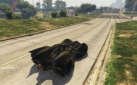 mod gta 5 vehicles funny vehicles batmobile delorean star wars more