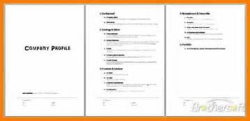 doc 410531 company profile template word customizable