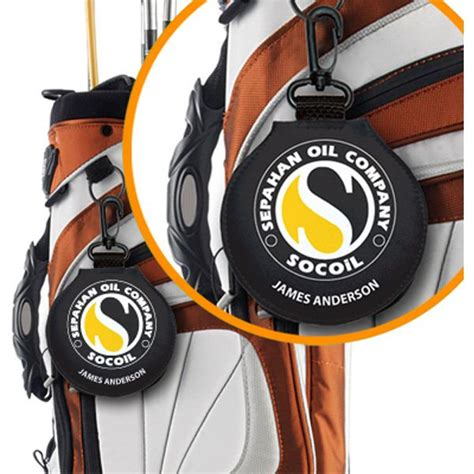 golf bag tags personalized   brand logo