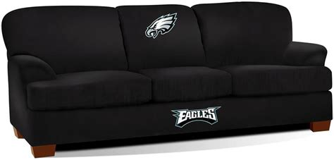 philadelphia eagles team microfiber sofa
