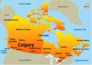 map of canada showing calgary calgary hotels holidays in canada beautiful holidays