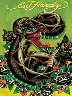download ed hardy tattoos wallpapers to your cell ed hardy 51420 logos mobile wallpapers auto