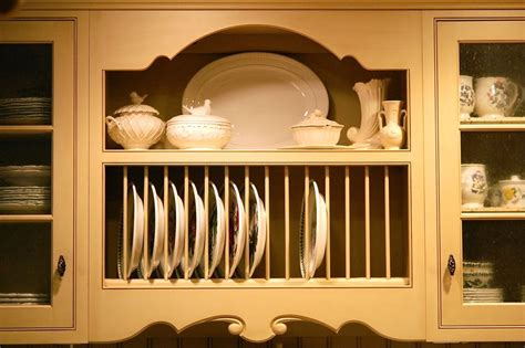 Kitchen Cabinet Plate Rack by Vintage February 2010