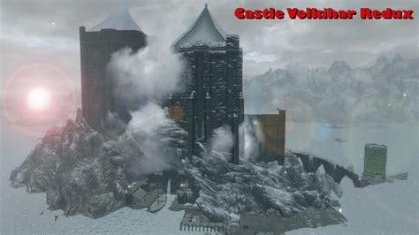 skyrim castle volkihar mod castle volkihar redux mod for elder scrolls v skyrim mod db