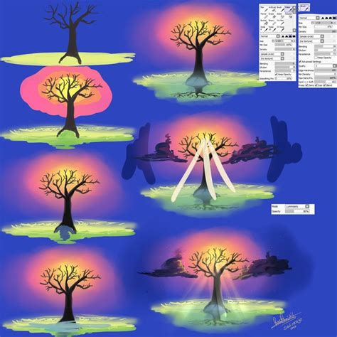 paint tool sai tree tutorial 17 best images about sai guides tutorials on