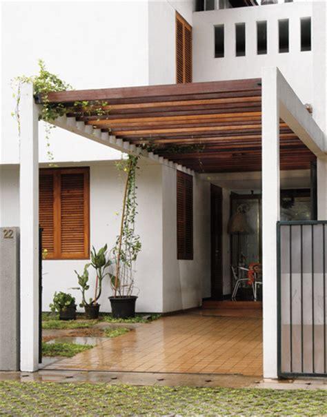 kanopi minimalis  kayu  berkualitas canopyrumahcom jasa pembuatan canopy
