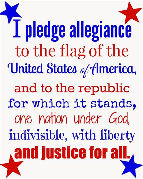 Pledge Of Allegiance Words Printable the gallery for gt pledge to the christian flag words