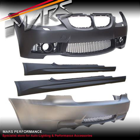 Lcd Note 3 Replika Type D m3 style front rear bumper bar side skirts bmw e92 06 09