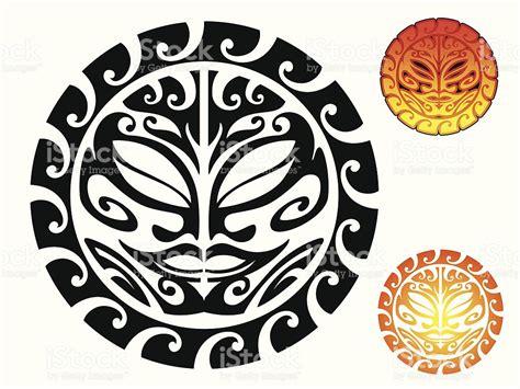 tatuagem tribal de sol arte vetorial de stock e mais