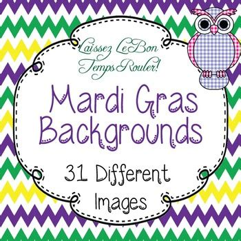 Mardi Gras Purple Green Gold Backgrounds For Powerpoint Flipcharts More Mardi Gras Powerpoint Template
