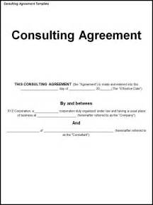 consulting contracts templates agreement templates archives templates