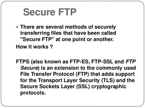 spoof host ssl anony tun achi file transfer protocol