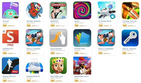 deal alert offering 50 worth of free apps
