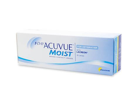1 Day Acuvue Moist 3536 by 1 Day Acuvue Moist For Astigmatism 30 Pack Low Prices